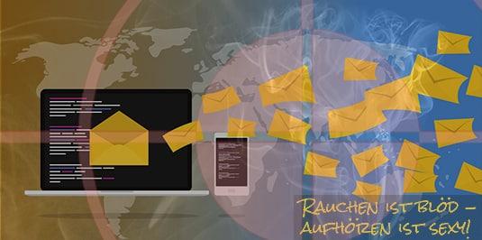 Artikelbild: Newsletter Nikotinentzug bestellen!